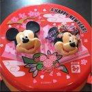 Tokyo Disney 2013 New Year Kimono Mickey & Minnie Popcorn Bucket Case Kids