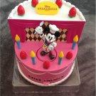 Tokyo Disneyland Ambassador Hotel Limited Chef Mickey Birthday Cake Music Box