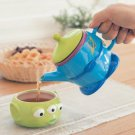 Disney Alien Tea For One Cup & Teapot Set with Tea Leaves Houseware Kitchen