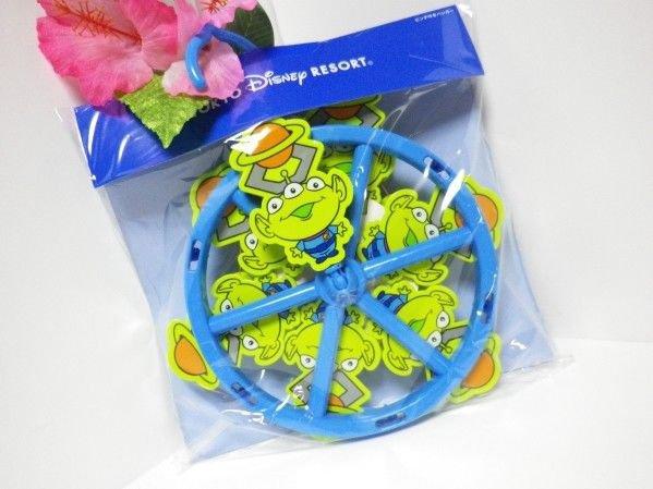 Tokyo Disney Land Disney Little Green Men Pinch Hanger Laundry pinch