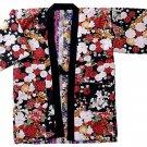 Women Hanten  peony Sakura Cherry blossoms chrysanthemum coat Roomware M FS