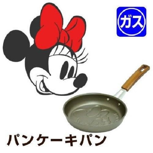 Disney Character Minnie Mouse Pancake Pan Hot Cake Grill Kitchen Item