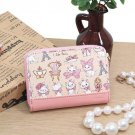 Disney Aristo cat Marie Leather Coin purse case pink wallet Made in Japan