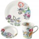 Disney Alice in the Wonderland Morning set Cake plate Mug cup Small dish Japan