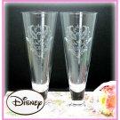 Disney Mickey mouse Damask Grass pair set Gold Platinum Tumbler made in Jpaan