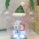 2017 Christmas Lantern Snow Snow Mickey Minnie Lamp Lantern Desney Resot Limited