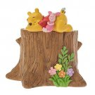 Disney store Winning The Pooh Planter Flower pot Resin Garden pot  SPRING FOREST