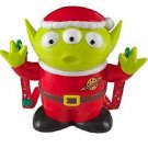 Disney Christmas Little Green Men Alien Santa Popcorn Bucket Container
