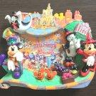 2011 Tokyo Disneyland Halloween Photo Frame stand Mickey Minnie Japan pumpkin