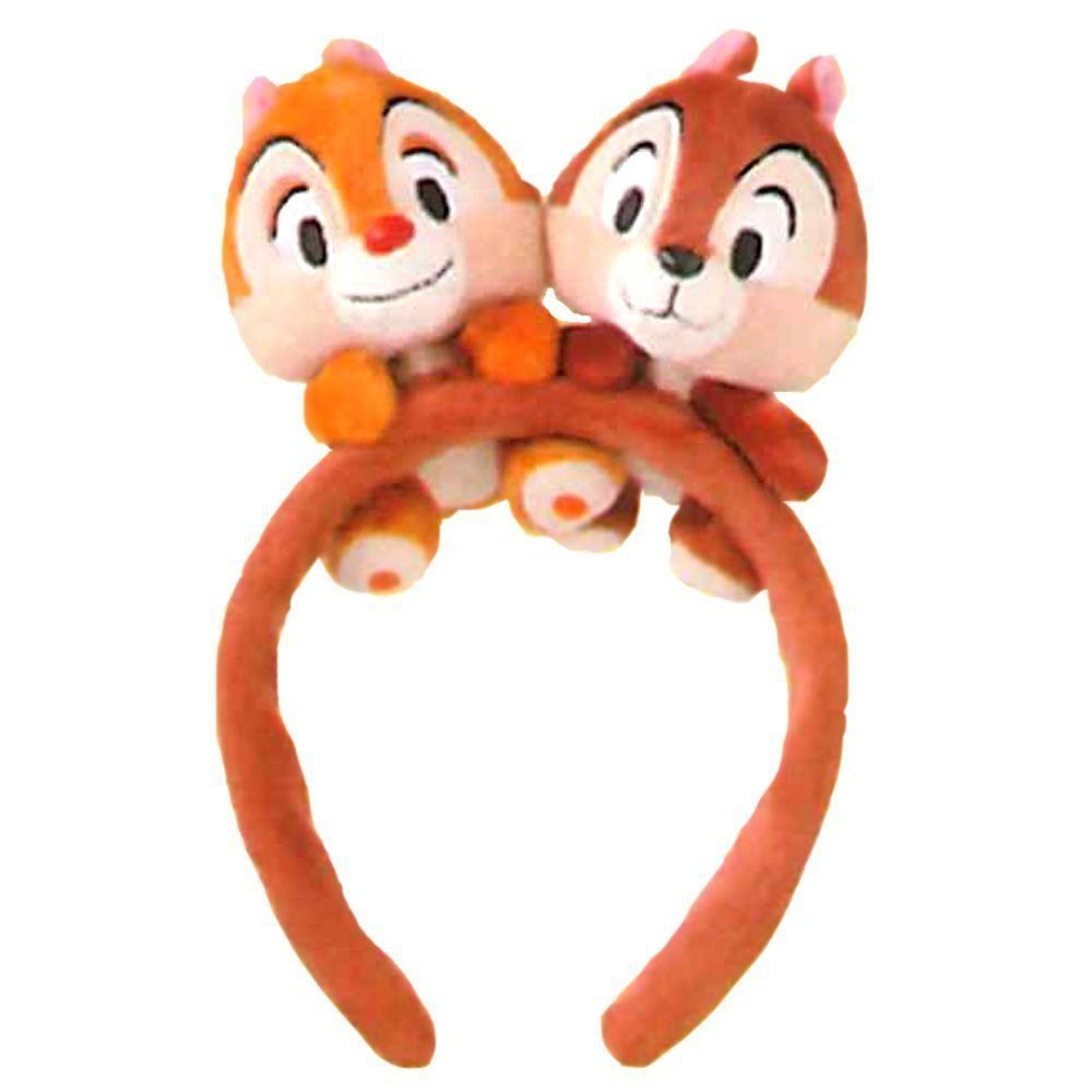 Tokyo Disney Resort Limited Chip & Dale Mascot Headband Disney Sea Hair Band