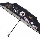 UV Beauty and the Beast Bell Rainy & dualuse 54cm folding Umbrella black parasol