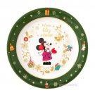Tokyo Disney Resort Limited 2017 Christmas Art Plate Minnie Mouse worm & enjoy