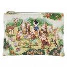 Disney store Snow White and seven dwarfs flat pouch case FOLK WOOD LAND