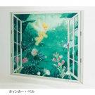 Disney Bathroom poster Tinker Bell Picture Wall painting Paper waterproof japan