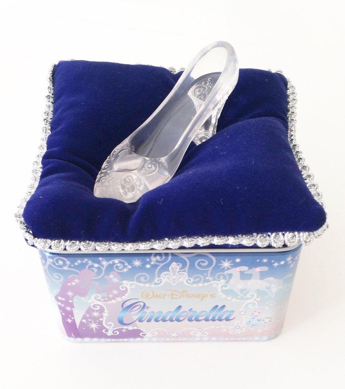 Tokyo Disney Resort Limited Item Character Cinderella Glass Shoes Ceylon Tea