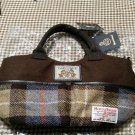 Disney × Harris Tweed Character Chips & Dale Shoulder Bag Tote Bag