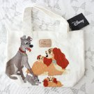 Disney Character Goods Lady and the Tramp Tote Bag Hand Kiddy Land Japan