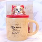 Disney store Japan limited Lady and the Tramp mug coffee cafe tea cup houseware