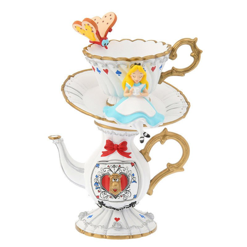 Disney Store Japan Alice in Wonderland ALICE PARTY Accessory Case Cup Pot Holder
