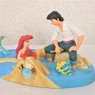 2004 Disney Sea Character Goods Little Mermaid Ariel & Eric Figure Clock