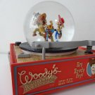 Disney Pixar Toy Story Snow globe Dome Music Box Figure Character Item