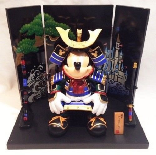 Tokyo Disney Resort Limited Mickey May Doll Large Samurai Ornament state figure