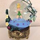 Disney Store US Tinker Bell Gold Platform Snow Globe Snow Dome Peter Pan