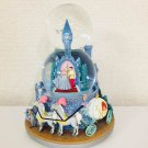 Rare! Disney Cinderella Wedding Castle W Snow Globe  Dome Figurines