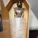 rare! Disney Character Nightmare Before Christmas Gold Jack Figure Jun Planning