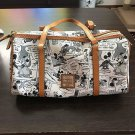 Dooney & Bourke × Disney Character Mickey Handbag Comic Pattern Mini Boston