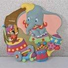 2004 Tokyo Disneyland Character Goods Dumbo & Timothy 3D Figure Plate Dish Pan