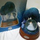 Disney Store Princess Cinderella Snow Glove Dome Music Box Figures