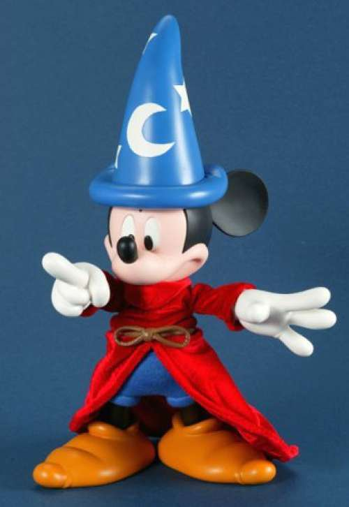 """Medicom Toy MAF FANTASIA MICKEY MOUSE 9.4""""Non Scale PVC Painted movable figure"""