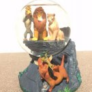 rare! 1980s Disney Store Character goods Lion King Snow Dome Glove Figure