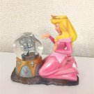 Rare! Disney Store Sleeping Beauty Aurora Princess Snow Glove Snow Dome