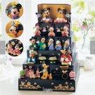 Christmas Disney Mickey Minnie & Friends Hina doll Dankazari Figure set