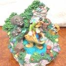 Very rare! Disney Goofy Fountain Snow globe Water dome figure ornament Japan FS