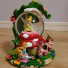rare! Disney Store Limited Edition Character Tinker Bell Snow Globe Dome Figure