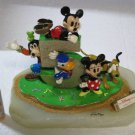 Disney Store 5th Anniversary Ron Lee Mickey & Friends Figure Ornament Character