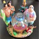 Disney Stitch Snow Dome Music Box Figure Aloha Rare Item