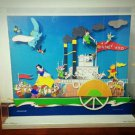 Super rare! Disney x ONWARD Wall Moving picture Trick Glockenspiel art picture