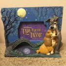 US Disney Store limited Lady and the Tramp 3D Photo Stand Frame interier