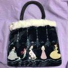 Disney Secret Honey Princess Rapunzel Ariel Handbag Tote shoulder bag Ladies