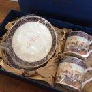 TDS Disney Hotel Mira Costa Limited Wedding Pair Noritake Cup & Saucer Set