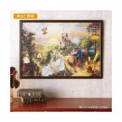 Disney Art Puzzle Cinderella Castle Beauty and the Beast 1000 Picture interior