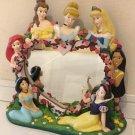 Disney World Florida Princess Stand Mirror Snow White Ariel Cinderella Bell