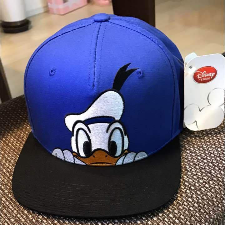 Disney Store Japan Limited Item Character Goods Donald Duck Cap Hat Item!