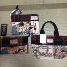 Harris Tweedx Disney Collaboration Product Pinocchio Bag Pouch 3 Pieces Set