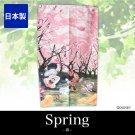 Disney Mickey & Minnie Cherry Blossom Doorway NOREN CafeCurtain Spring Partition
