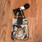 Disney Character Aladdin Jasmine × Harris Tweed Smartphone Pouch Case Mobile Bag